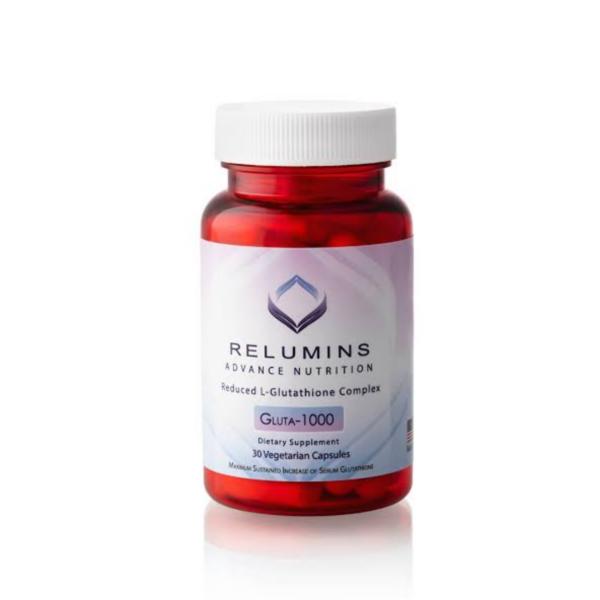 Relumins Advance Nutrition Gluta 1000 Reduced L-Glutathione Complex