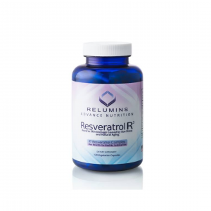 Relumins Resveratrol R3, Reverse Skin Damage Caused by Sun Stress and Natural Aging- 120 Capsules