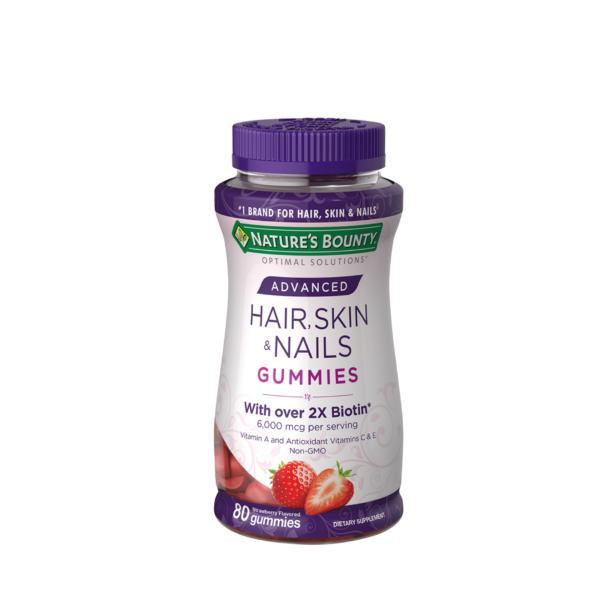 Nature's Bounty Advanced Hair, Skin and Nails Gummies